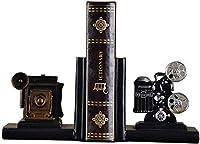 GAXQFEI Premium Resic Bookenは、お父さんと恋人アートブックスタンドのためのオフィスデスクの創造的な贈り物をサポート