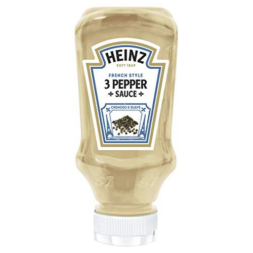 Heinz - Drei-Pfeffer-Sauce - Würzen Sie Ihre Mahlzeiten auf einfache Weise - 220 ml
