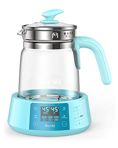 Formula Ready Water Kettle with Precise Temperature Control (Keep Warm 24 Hours at Perfect Temp) Electric Boiler Heater for Night Feeding, Faster Than Bottle Warmer