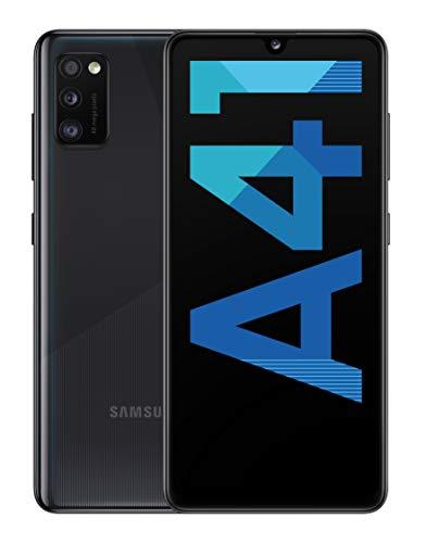 "Samsung Galaxy A41 - Smartphone 6.1"" Super AMOLED (4GB RAM, 64GB ROM), Negro [Versión española]"