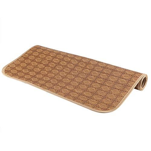 GAESHOW Hemtextil rottingmatta rutnät dra-på-lakan set sommar coolt sängöverdrag (60 x 120 cm)