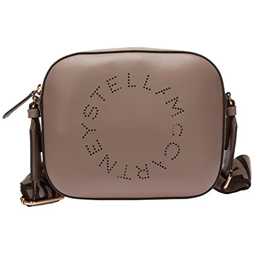 Stella McCartney damen stella logo Umhängetasche marrone