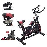 SPINBIKE AERO SPIN 6 | Spinning bike con volano da 6 kg | Bicicletta per allenamento a casa dimagrante, forza, resistenza | Cyclette Spin Bike