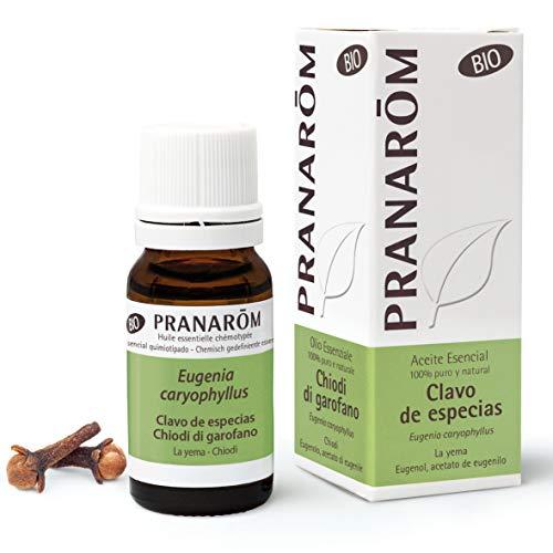 Pranarôm - Aceite Esencial de Clavo de Especias Bio - Yema - 10 ml