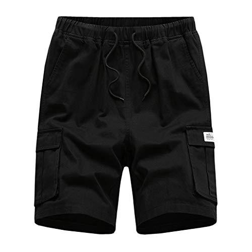 WINJIN Shorts Cargo Homme Bermuda Casual Shorts Sport Été Pantalon Courte Musculation Shorts Casual Jeans Mode Shorts Fitness avec Multi-Poches