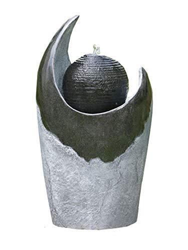 Kiom Gartenbrunnen Springbrunnen Brunnen FoSferico für Aussen + Innen 70cm 10558