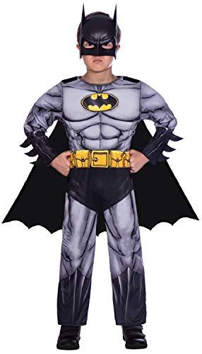 Costume da supereroe per ragazzi - Batman classico - Medio (6-8 anni)