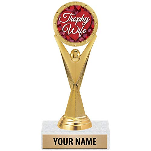 Crown Awards 2019 Personalized, Custom Trophy Wife Gifts, Funny Gifts for Her