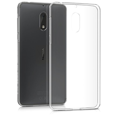 Tektide Case Compatible for Nokia 6, [Invisible Armor] Xtreme Slim, Clear, Soft, Lightweight, Shock Absorbing TPU Rubber Bumper Case/Back Cover