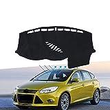 OPisuda La Alfombra del Parasol del salpicadero del Coche Protege los Accesorios Interiores, para Ford Focus 3 2011~2018 (Volante a la Izquierda) (Volante a la Derecha)