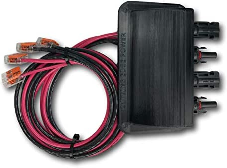 Cutting Edge Power Solar Panel Weatherproof Cable Wire Entry Housing w Connectors Made in USA product image