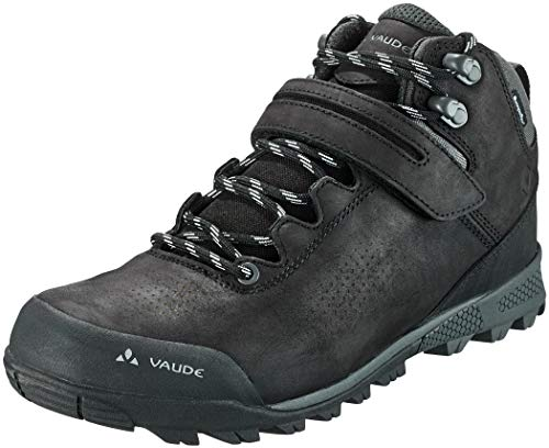 VAUDE Unisex AM Tsali Mid STX Mountainbike Schuhe, Phantom Black, 43 EU
