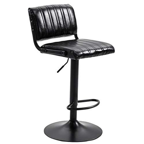 Bureaustoel Computer Bureau Stoel, Faux Leather verstelbare Ongewapende Binnenlandse Zaken bureaustoel, kan worden toegepast op Barkrukken (multiple Styles) (Color : A)