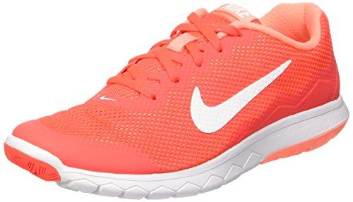 Nike Damen Wmns Flex Experience Rn 4 Turnschuhe, Rosso (Brght Crmsn/White-Atmc Pnk-Whi), 41 EU