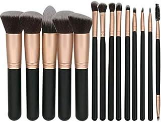 Makeup Brushes Set 14pcs Cosmetic Make up Brush Tool Rose Gold