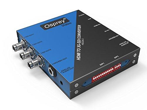 Osprey Video Scaling HDMI 1080P60 to 3G-SDI Converter HSCSA-2