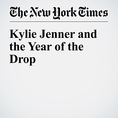 Kylie Jenner and the Year of the Drop audiobook cover art