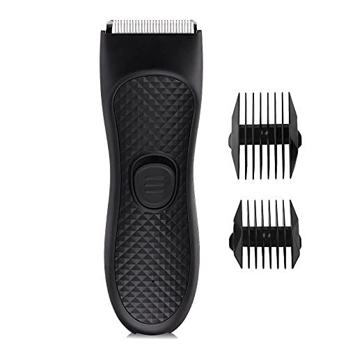 Body Hair Trimmer for Men, Body Groomer, Electric Razor for Men Pubic...