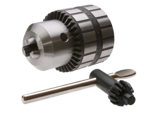 LFA INDUSTRIES 81BS-13A-2shJT 0-5/16-Inch - .3-8 mm Capacity, 2short Jacobs Taper Mount Super Chuck Heavy Duty All Steel, Keyed Drill Chuck with Chuck Key Included