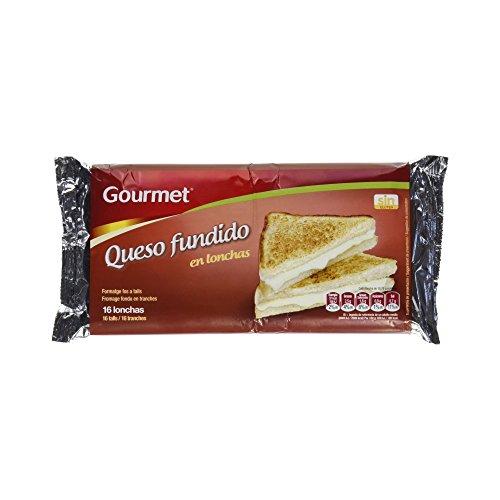 Gourmet - Queso Fundido en Lonchas -16 lonchas - 300 g