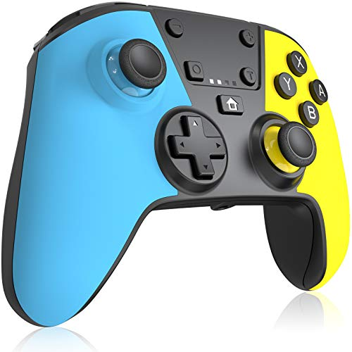RegeMoudal Wireless Controller for Switch,with 6-axis Somatosensory Gyroscope Sensor Function,Dual Vibration,Support Turbo,Screenshot