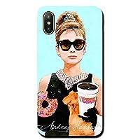 iPhone11promax アイフォン スマホケース ハード ケース カバー ジャケット ブランド グッズ オードリー ヘップバーン ローマの休日 ティファニー Audrey Hepburn