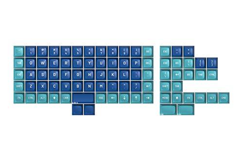 DROP MT3 Dasher Keycap Set, ABS Hi-Profile Keycaps Doubleshot Legends MX Style Covers Ortholinear Keyboards (Ortho Kit)