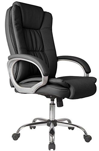 Venta Stock Confort 2 - Sillón de Oficina elevable y reclinable, Piel sintética,...