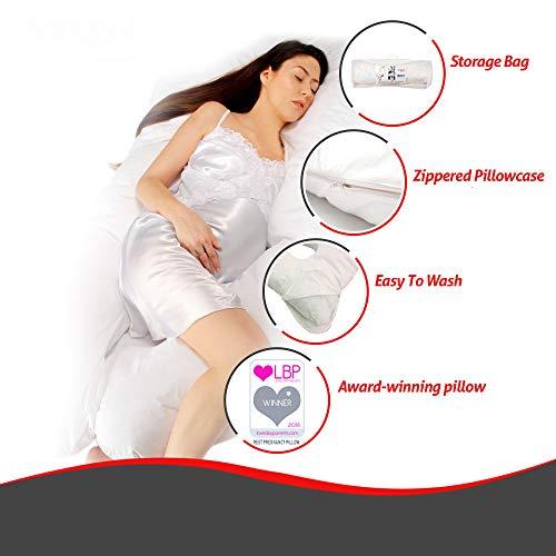 Sanggol Almohada con Forma de U, Almohada de Embarazo...