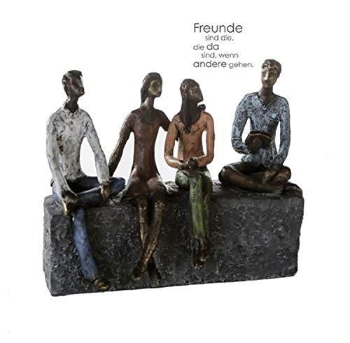 Casablanca - Skulptur - Dekofigur - Network - Polyresin - Bronce/bunt