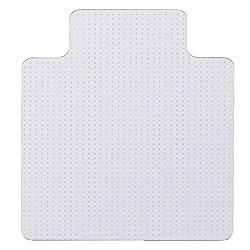 AckfulPVC Carpet Protection Mat Office Chair Cushion Rivet Table Mat (A)