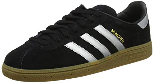adidas Buty Munchen BY9790 Zehenkappen, Schwarz (Black) 42 EU