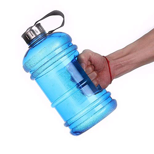 Bellveen Plastic Leakproof Gallon Water Bottle for | Gym Camping | Training Sports Cycling | Travelling Picnic | Outdoor |2.2 Litter| Multi Color