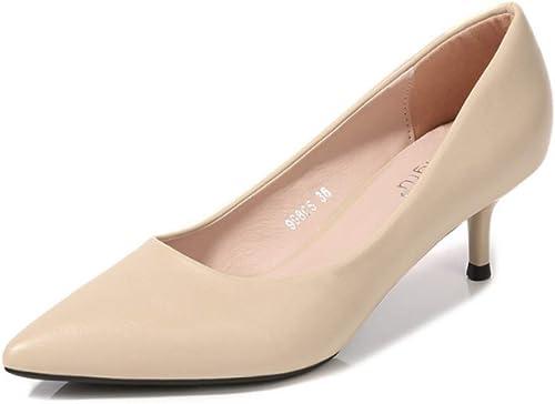 Damen High Heels Fashion Court Hochzeitsgesellschaft Zeigte Schuhe Schuhe Schuhe  Spiel bis zu 70%