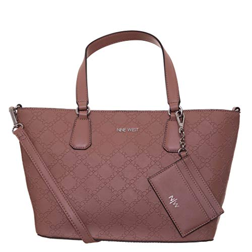 Nine West Marcelie Small Trap Tote Pecan One Size