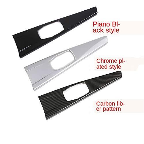 Silk for Sell 2021 Buena Piezas de automóvil Interior del automóvil Multimedia Panel Tapa de Cubierta para BMW 3 Series F30 F34 4 Series F33 F36 2013 2014 2015 2016 2016 2017 Fibra de Carbono ABS