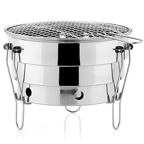Why Should You Buy WN - Outdoor Grill - Small Grill Stainless Steel Outdoor Portable BBQ Barbeque Pi...