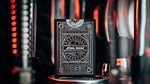 Murphy's Magic Supplies, Inc. Spielkarten Star Wars Dark Side Silver Edition (Graphite Grey) Playing Cards by theory11