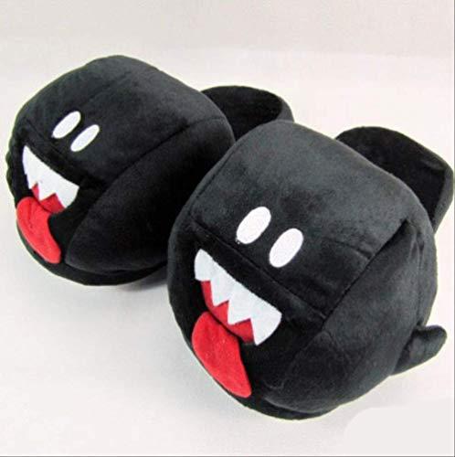 QIMA Plüschpantoffeln Sonic Super Mary Super Mario Brothers Green Yoshi Esel Kong Plüsch Hausschuhe Erwachsene Frauen Männer Herbst Winter Hausschuhe