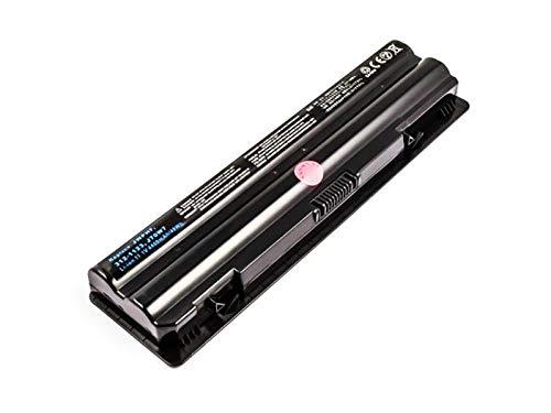 Akku für Dell XPS 14, 15, 17, L401X, L501X, L502X, L701X, L702X, L752X wie J70W7, JWPHF, 4400mAh, 11.1V, schwarz