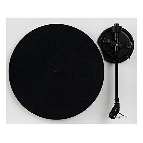 Reloop Turn 2-Wei Analoger HiFi Plattenspieler für Audio Puristen, Weiß