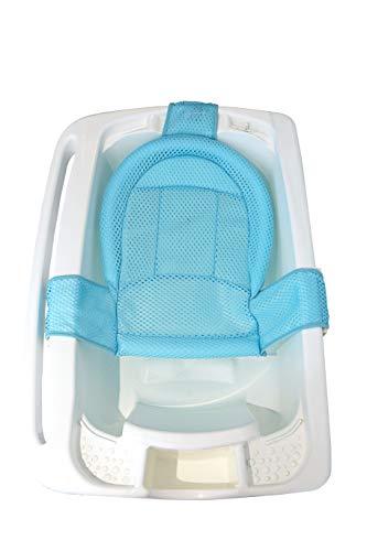 Rede Protetora de Banho Baby Net Azul, Kababy, Azul