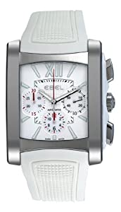 Ebel Women's 9126M52/164WC35 Brasilia Silver Chronograph Dial Watch image