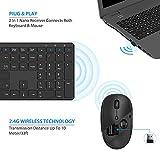 Zoom IMG-1 tastiera e mouse wireless tedgem
