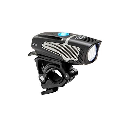 NiteRider Lumina Micro 850 Boost Bike Front Light – 850 Lumens – USB Rechargeable – Water and Dust Resistant