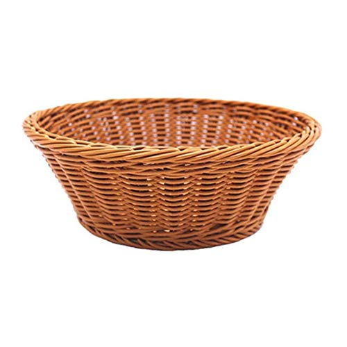 ZHENAO Bedroom Kitchen Fruit Basket Bread Basket Wicker Storage Hamper Camping Basket Get Together Picnic Snacks Wicker Hamper Carrying Basket Peculiar Easter Basket Carry Basket /