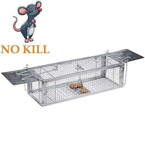 SHUPIAN Trampa para Ratones Premium Ratoneras Profesionales en plástico y Reutilizables Generico, Trampa Viva Humana Raton Animal roedor Mouse Rat Trap higiénica, practicamente e Seguro,4pieces