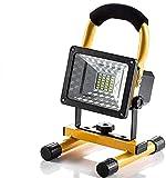 DUCCM 15-W-LED-Arbeitsleuchte mit Magnetständer, tragbarem wiederaufladbarem Flutlicht,...
