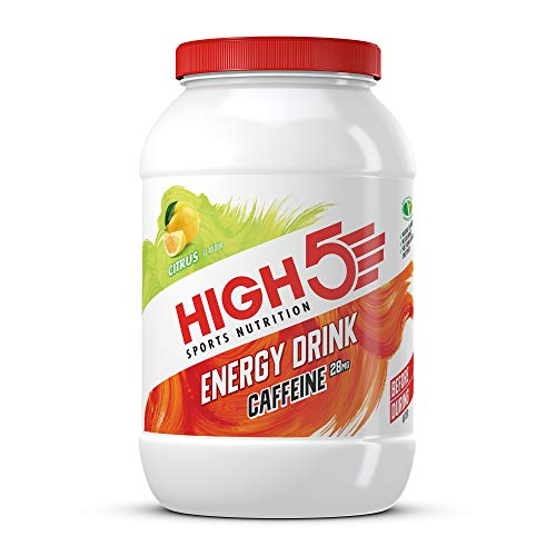 HIGH5 Energy Hydration Drink with Caffeine Refreshing Mix of Carbohydrates and Electrolytes Vegan Friendly...