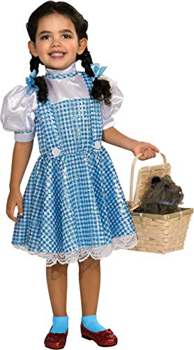 Wizard of Oz Dorothy Sequin Costume, Large (75th Anniversary Edition)
